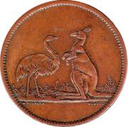 1 Penny (Flavelle Bros & Co - Sydney & Brisbane) -  obverse