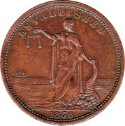 1 Penny (Smith, Peate & Co - Sydney New South Wales) -  obverse