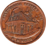 1 Penny (W.D.Wood - Hobart, Tasmania) -  obverse