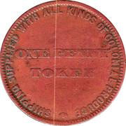 1 Penny (H. Lipscombe - Hobart, Tasmania) -  reverse