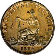 1 Penny (Edwd. De Carle & Co. - Melbourne, Victoria) -  obverse