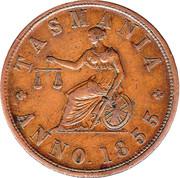 1 Penny (Edw.De Carle & Co - Melbourne, Victoria) -  obverse