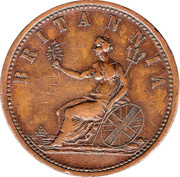 1 Penny (I. Booth - Melbourne, Victoria) -  obverse
