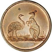 1 Penny (W.J. Taylor - Advance Australia) -  obverse