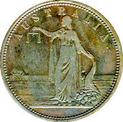 1 Penny (R. Parker - Geelong, Victoria) -  obverse