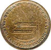 1 Penny (H. J. Marsh & Brother - Hobart, Tasmania) – reverse