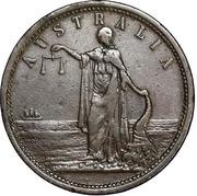 1 Penny (Iredale & Co. - Sydney, New South Wales) -  obverse