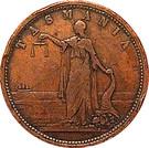 1 Penny (Robert Andrew Mather, Family Draper - Hobart, Tasmania) – reverse