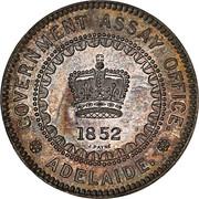 5 Pounds - Victoria (South Australia Colony; Pattern; Restrike) -  obverse
