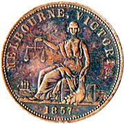 1 Penny (Hide & De Carle - Melbourne, Victoria) -  obverse