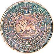 1 Penny (Hide & De Carle - Melbourne, Victoria) -  reverse