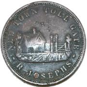 1 Penny (Josephs, R. - New Town, Van Diemen's Land) -  obverse