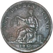 1 Penny (Josephs, R. - New Town, Van Diemen's Land) -  reverse