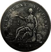 1 Penny (Rocke, G. & W. H. - Melbourne, Victoria) -  reverse