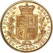 1 Sovereign - Victoria – reverse
