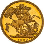 1 Sovereign - Victoria -  reverse