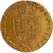 1 Pound & 1 Shilling - George III (1800 Proclamation coin - British Guinea) – reverse