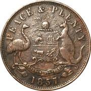 1 Penny Token (Hanks & Lloyd - Sydney, NSW) -  reverse