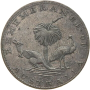 3 Pence (Hogarth, Erichsen & Co - Sydney, New South Wales) -  reverse