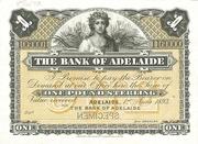 1 Pound (Bank of Adelaide) – obverse