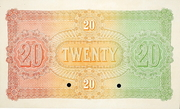 20 Pounds (Australian and European Bank) -  reverse