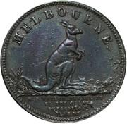 ½ Penny (Taylor, W. J - Melbourne, Victoria) – obverse