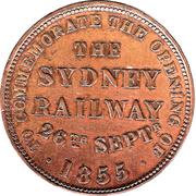 ½ Penny (Hanks & Lloyd - Sydney, New South Wales) -  obverse