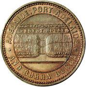 ½ Penny (Crocker & Hamilton - Adelaide, South Australia) – obverse