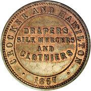 ½ Penny (Crocker & Hamilton - Adelaide, South Australia) – reverse