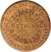 1 Penny (Watson, W - Ballarat, Victoria; Restrike) – obverse