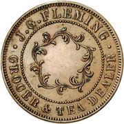 1 Penny (J. G. Fleming - Hobart, Tasmania) -  reverse