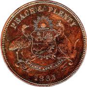 1 Penny (Warnock Bros - Melbourne & Maldon, Victoria) -  obverse