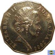 50 Cents - Elizabeth II (5th Portrait - Royal Visit) -  obverse
