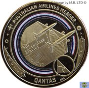1 Dollar - Elizabeth II (6th Portrait - QANTAS 09 - I Still Call Australia Home) -  reverse
