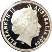5 Dollars - Elizabeth II (4th Portrait - 150 Years of State Government Tasmania) -  obverse