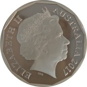 50 Cents - Elizabeth II (4th Portrait - Pride and Passion) -  obverse