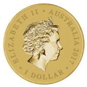 1 Dollar - Elizabeth II (4th Portrait - Henry Lawson - 150 Years) -  obverse