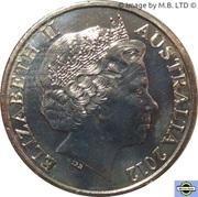 20 Cents - Elizabeth II (4th Portrait - Shores Under Siege - Air raid Shelter) -  obverse