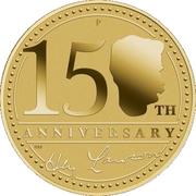 1 Dollar - Elizabeth II (4th Portrait - Henry Lawson - 150 Years) -  reverse