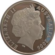 5 Dollars - Elizabeth II (4th Portrait - Queen's Baton Relay) Silver Proof -  obverse