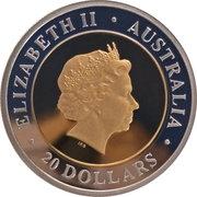 20 Dollars - Elizabeth II (4th Portrait - Third Millennium First Day) -  obverse