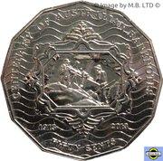 50 Cents - Elizabeth II (4th Portrait - Centenary of Australian Banknotes) -  reverse