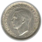 3 Pence - George VI -  obverse