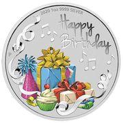 1 Dollar - Elizabeth II (6th Portrait - Happy Birthday) -  reverse