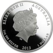 1 Dollar - Elizabeth II (4th Portrait - HRH Prince George) – obverse