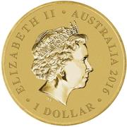 1 Dollar - Elizabeth II (4th Portrait - Gumnut Babies) -  obverse