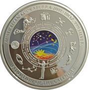 10 Dollars - Elizabeth II (4th Portrait - Evolution of the Calendar - Silver Bullion Coin) – reverse