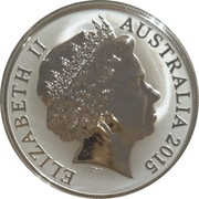 5 Dollars - Elizabeth II (4th Portrait - Australian Lighthouses Aids to Navigation) -  obverse