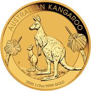 50 Dollars - Elizabeth II (6th Portrait - Kangaroo - Gold Bullion Coin) -  reverse