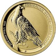 15 Dollars - Elizabeth II (Australian Wedge-Tailed Eagle) -  reverse